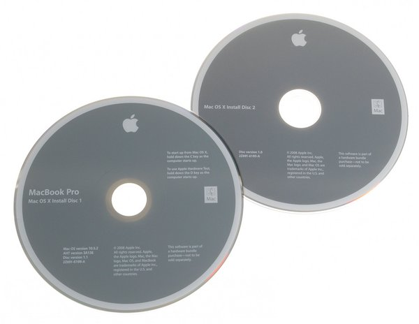 "MacBook Pro 15"" (Model A1260) Restore DVDs"