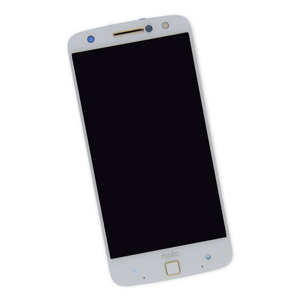 Moto Z Force Droid Screen / White / Part Only / New