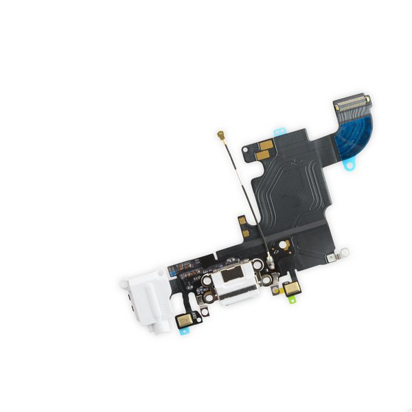 iPhone 6s Lightning Connector and Headphone Jack / New / White / Part Only