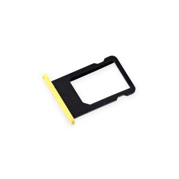 iPhone 5c SIM Card Tray / Yellow