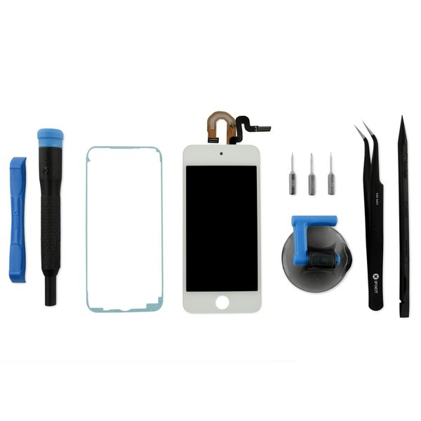 iPod touch (5th Gen) Screen / Fix Kit / White / New
