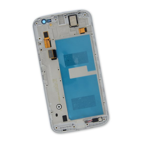 Moto G4 Screen / White / Part Only