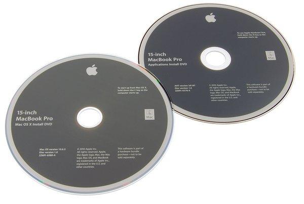 """MacBook Pro 15"""" Unibody (Mid 2010) Restore DVDs"""