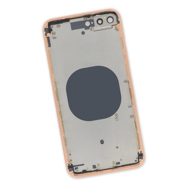 iPhone 8 Plus Aftermarket Blank Rear Case / Gold