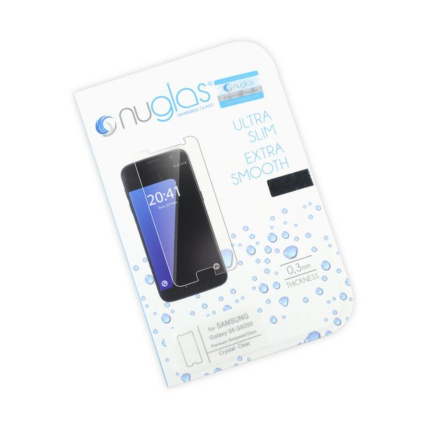NuGlas Tempered Glass Screen Protector for Galaxy S6
