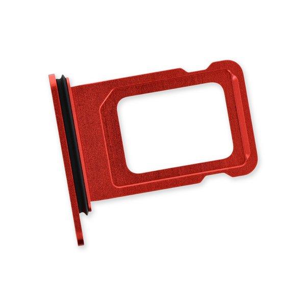 iPhone 12 SIM Single Card Tray / Red
