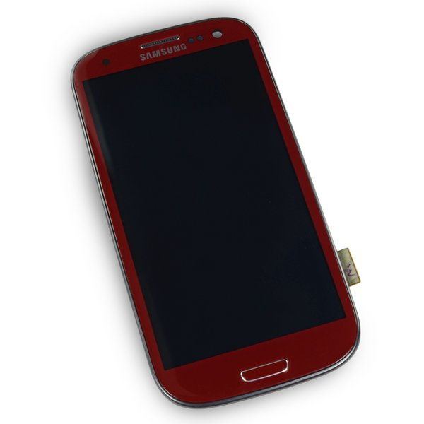 Galaxy S III (AT&T/T-Mobile) Screen / Red / New