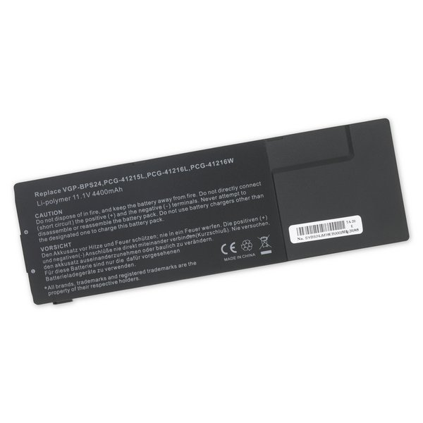 Sony VGP-BPL24 and VGP-BPS24 Laptop Battery