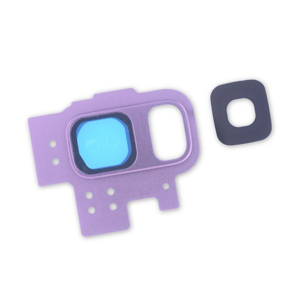 Galaxy S9 Rear Camera Bezel & Lens Cover / Purple