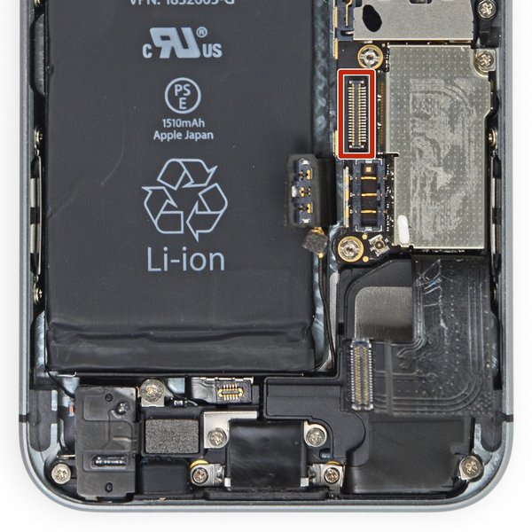 iPhone 5s Dock FPC Connector (J7)
