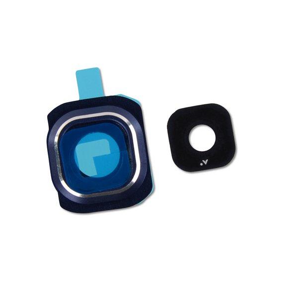 Galaxy S6 Rear Camera Bezel & Lens Cover / Black / Part Only