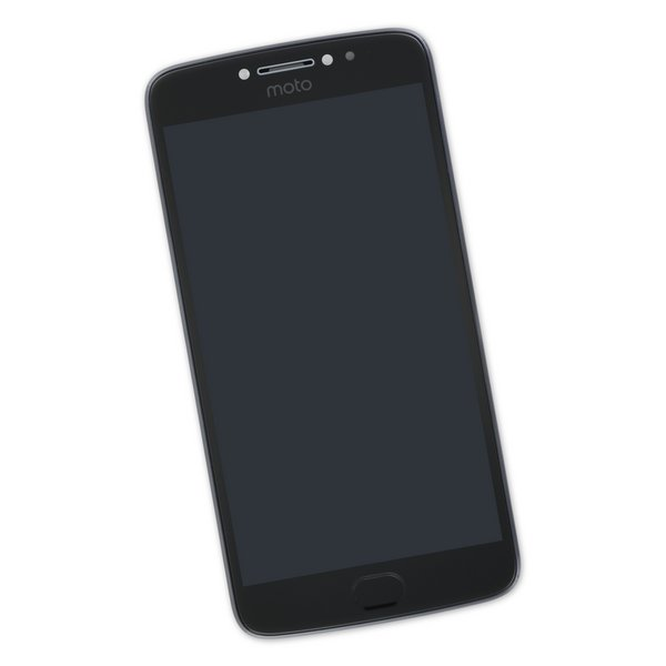 Moto E4 Plus (XT1772) Screen / Black / Part Only