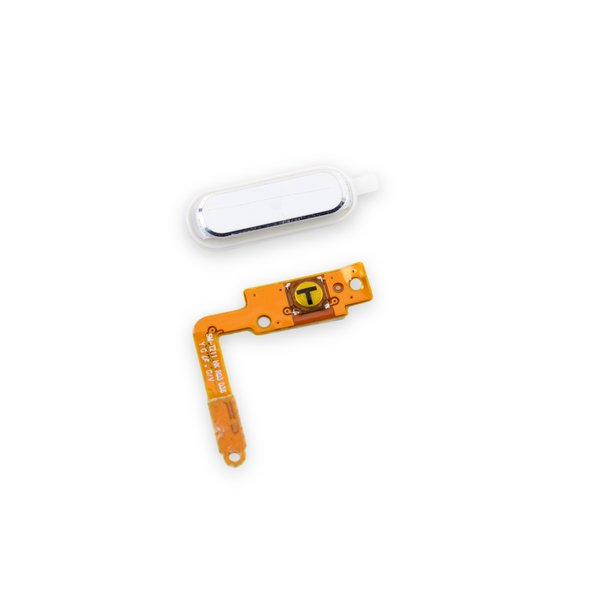Galaxy Tab 3 7.0 Home Button Assembly / White / Used