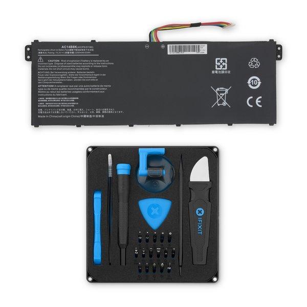 Acer AC14B3K, AC14B8J, and AC14B8K Laptop Battery / Fix Kit