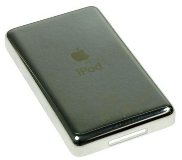 iPod Video 60 GB Rear Panel