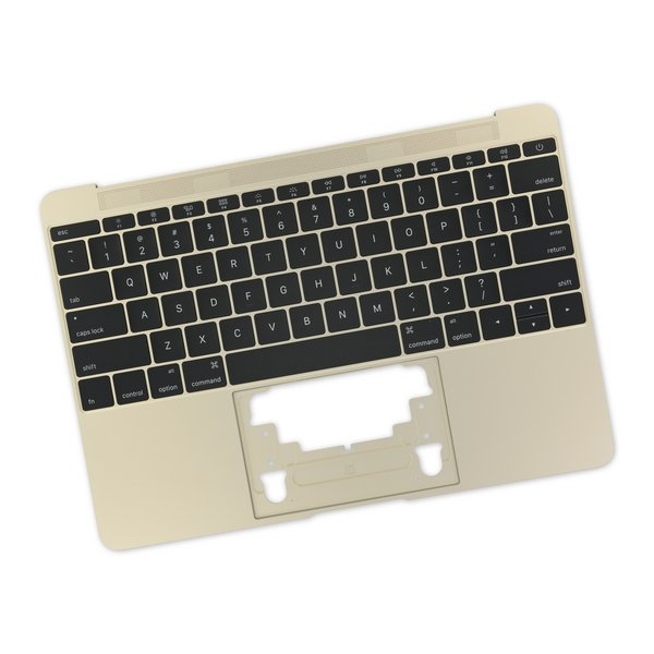 "MacBook 12"" Retina (Early 2015) Upper Case with Keyboard / A-Stock / Gold"