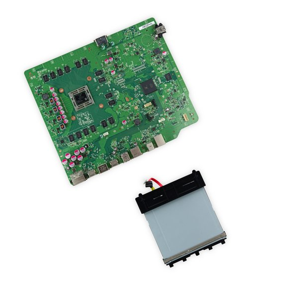 Xbox One Motherboard and Paired Optical Drive