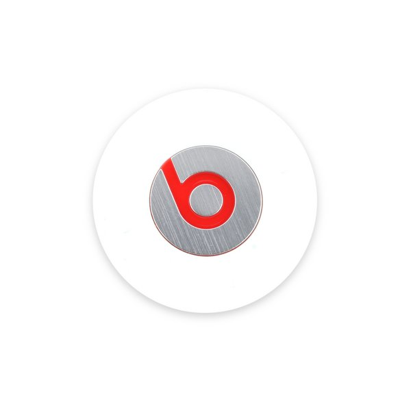 Beats by Dre. Studio Left Headphone Cover / White