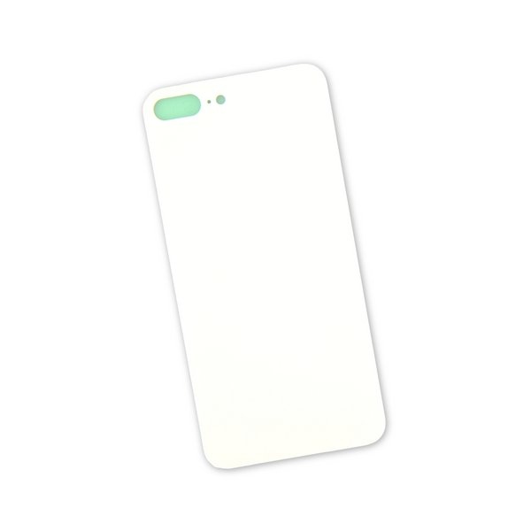 iPhone 8 Plus Aftermarket Blank Rear Glass Panel / White