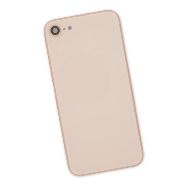 iPhone 8 Aftermarket Blank Rear Case / Gold