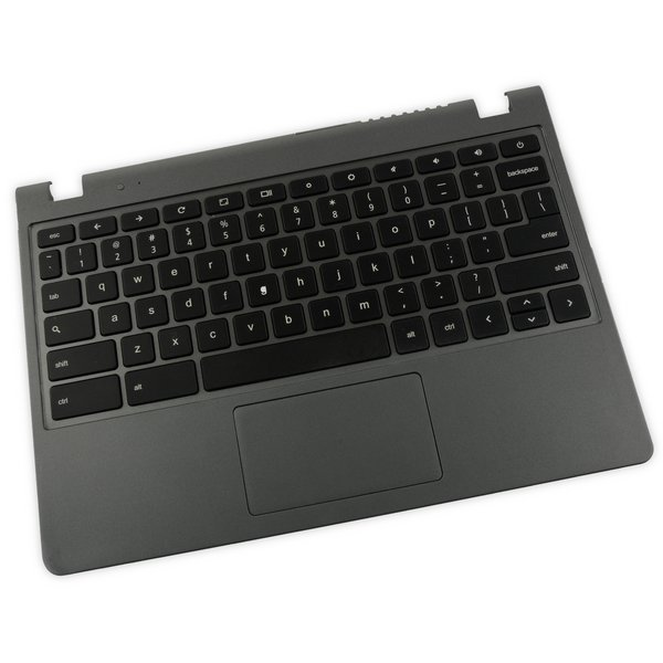 Acer Chromebook C740/C720/C720P Palmrest Keyboard Touchpad Assembly