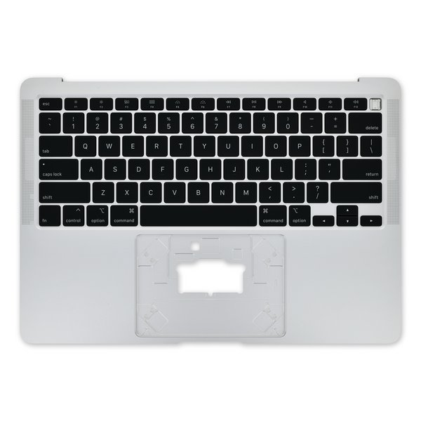 """MacBook Air 13"""" (Early 2020) Upper Case with Keyboard / A-Stock / Silver"""