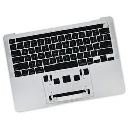 "MacBook Pro 13"" (A2289, A2338, 2020) Upper Case Assembly / A-Stock / Silver"