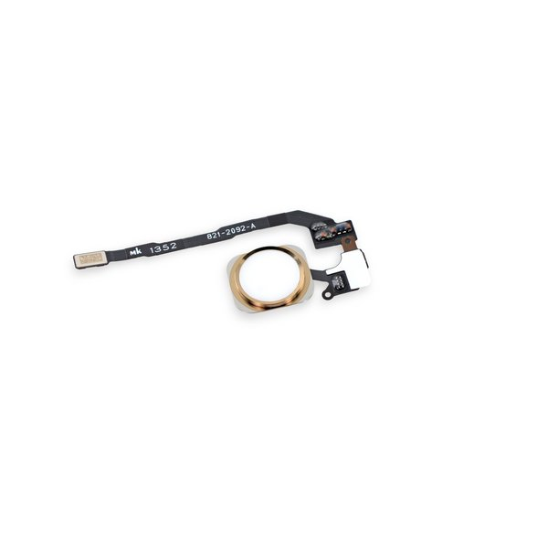 iPhone 5s Home Button Assembly / New / Gold / Part Only