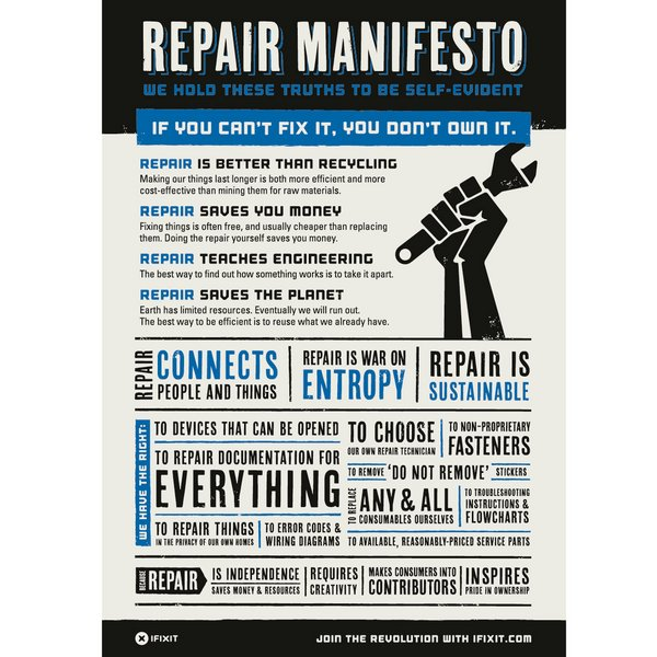 Self-Repair Manifesto / (A3) / EN / v2