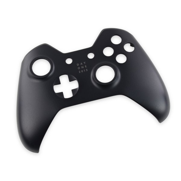 Xbox One Controller (1537 and 1697) Front Panel / Black / Day One / A-Stock