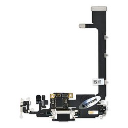 iPhone 11 Pro Max Lightning Connector Assembly / New / Black / With PCB