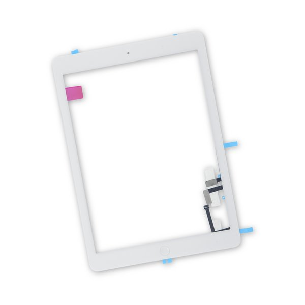 iPad Air Screen Digitizer / New / Part Only / White