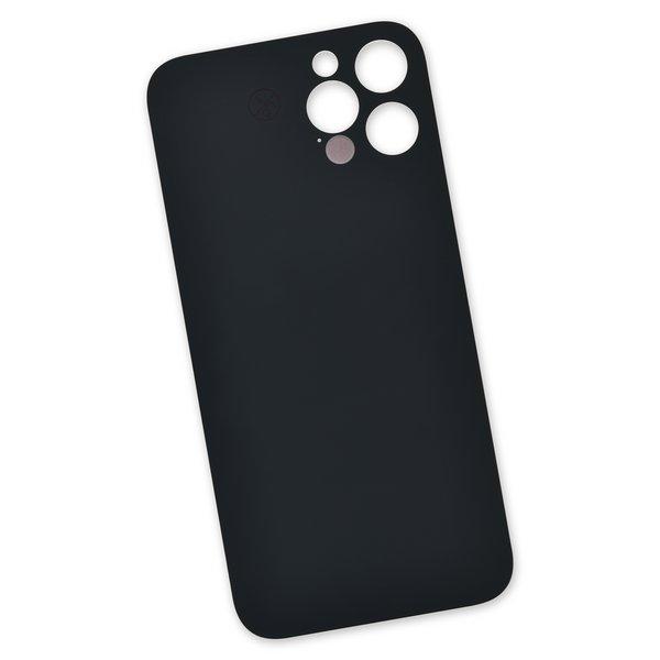 "iPhone 12 Pro Aftermarket Blank Rear Glass Panel / Dark Gray ""Graphite"""