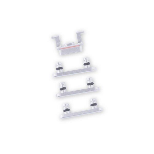 iPhone 8 Case Button Set / Silver