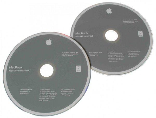 MacBook (Early/Mid 2009) Restore DVDs