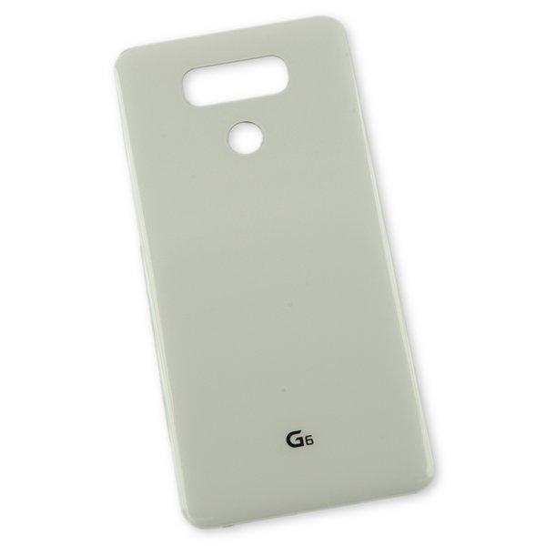 LG G6 Rear Glass Panel / White