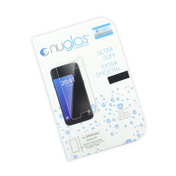 NuGlas Tempered Glass Screen Protector for Galaxy S7