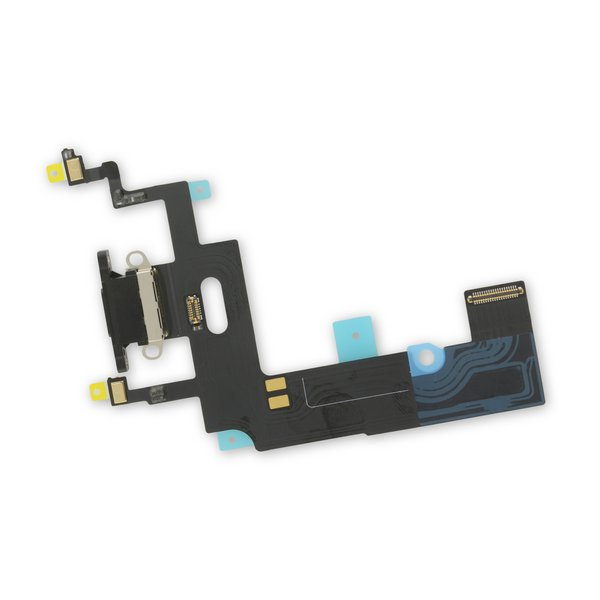 iPhone XR Lightning Connector Assembly / Black