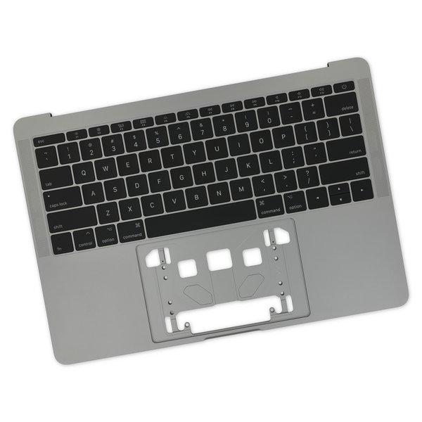 "MacBook Pro 13"" Retina (Function Keys, Late 2016-2017) Upper Case / A-Stock / Dark Gray"