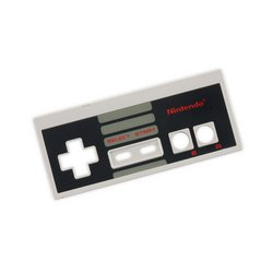 Nintendo NES-001 Controller Front Panel