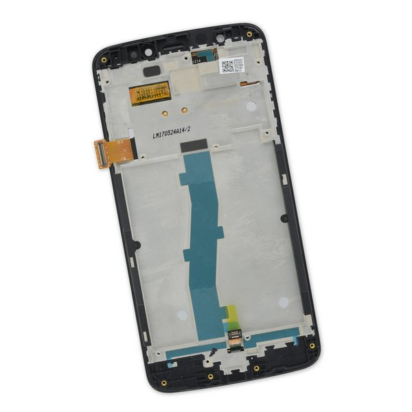 Moto E4 (XT1766) Screen / White / Part Only