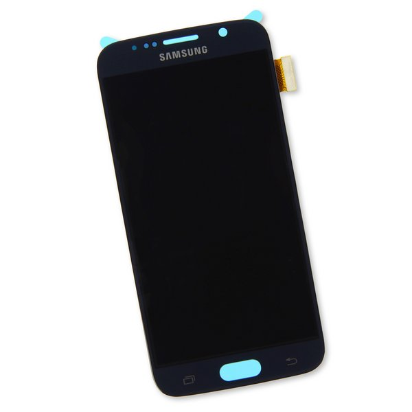 Galaxy S6 Screen / New / Black / Part Only