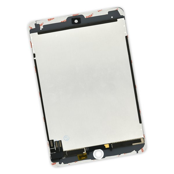 iPad mini 5 Screen / New / Part Only / White / With Adhesive