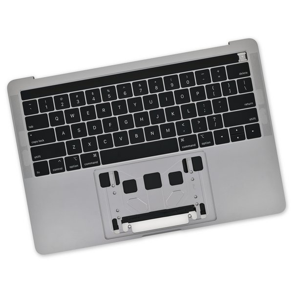 "MacBook Pro 13"" (A2159, 2019) Upper Case Assembly / A-Stock / Dark Gray"