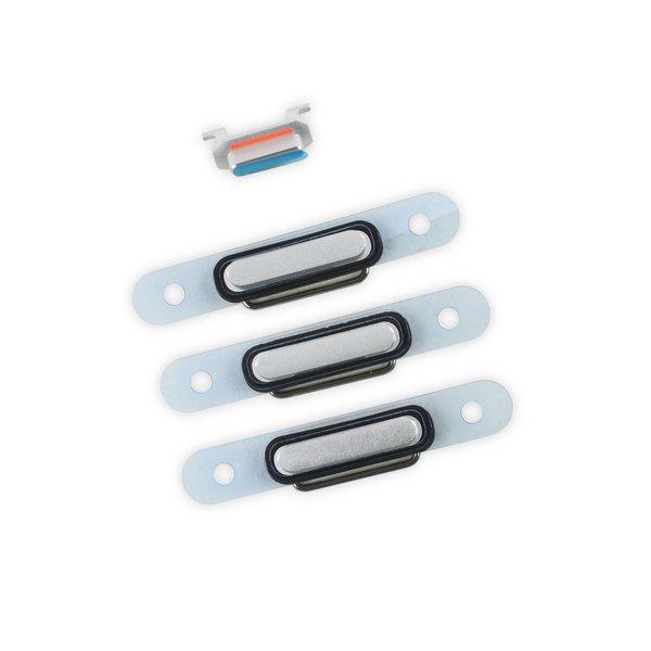 iPhone 6 Plus Case Button Set / Silver