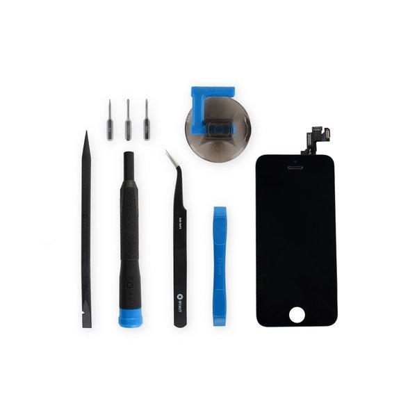 iPhone 5s Screen / New / Fix Kit / Black