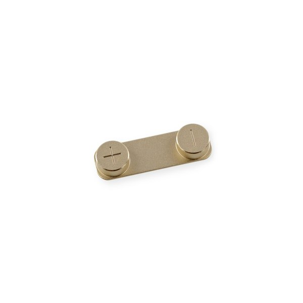 iPhone 5s/SE (1st Gen) Volume Button / Gold / Used