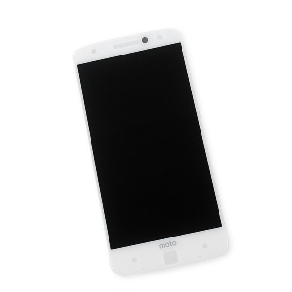 Moto Z Droid Screen / White / Part Only