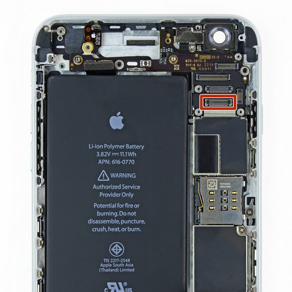 iPhone 6 Plus Front Camera and Earpiece Speaker FPC Connector