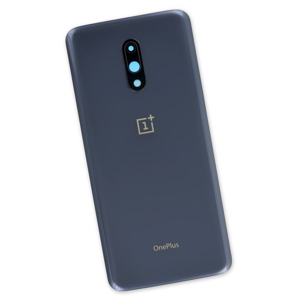 OnePlus 7 Rear Glass Panel/Cover / Dark Gray
